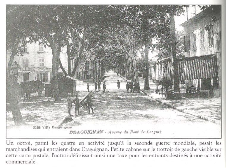 Octroi-Avenue de Lorgues