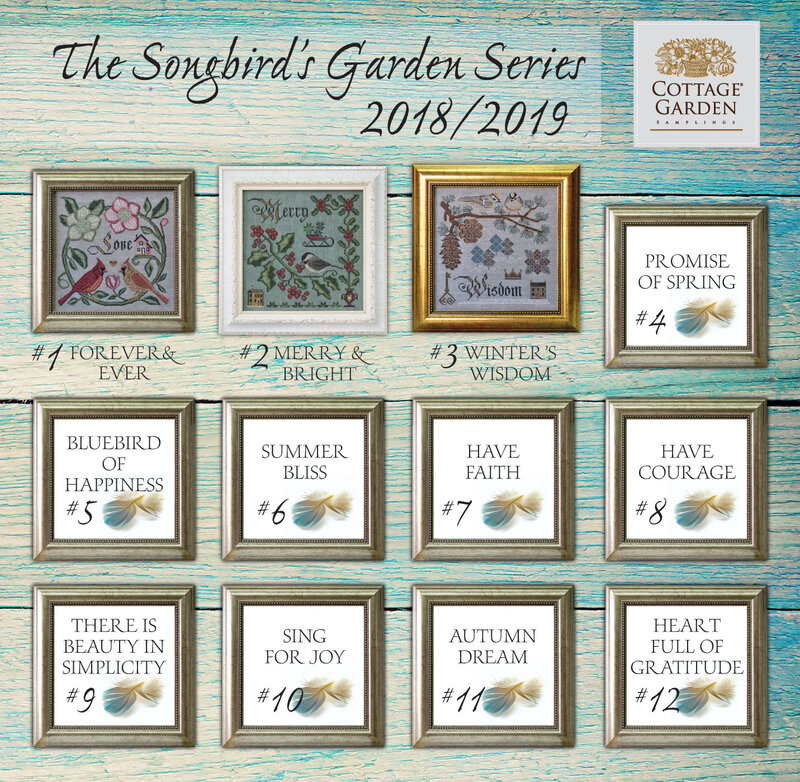 Songbirds Garden Series #3