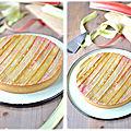La tarte à la rhubarbe de philippe conticini