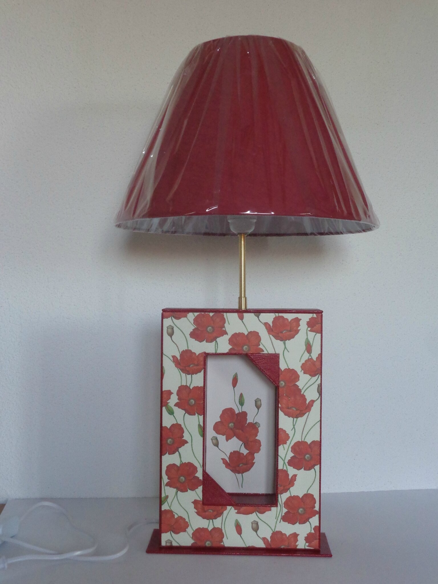 "Lampe ""coquelicots"""