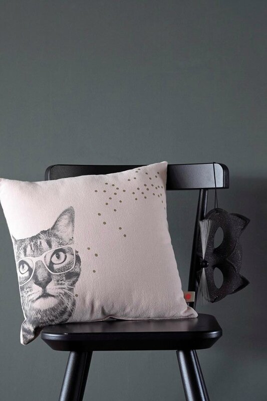 coussin 28 chat scene