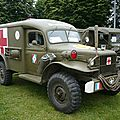 DODGE WC54 ambulance militaire 1942 Seltz (1)