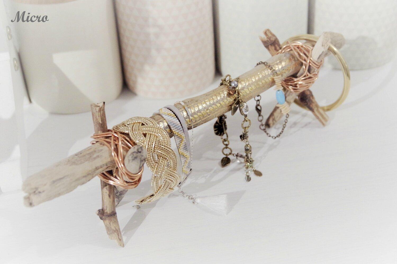 Bois Flotté Porte Photo diy] - porte bracelet en bois flotté - les bricoles de micro