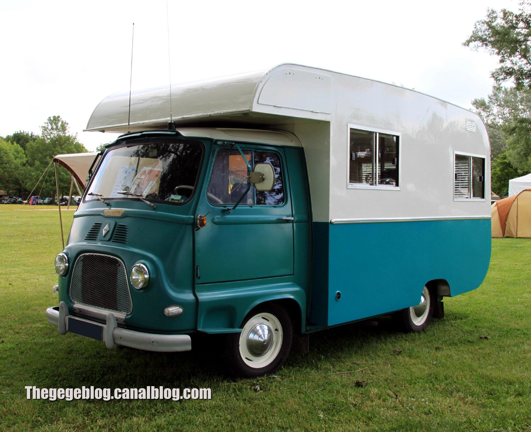 Renault estafette camping-car de 1966 (Retro Meus Auto Madine 2012) 01
