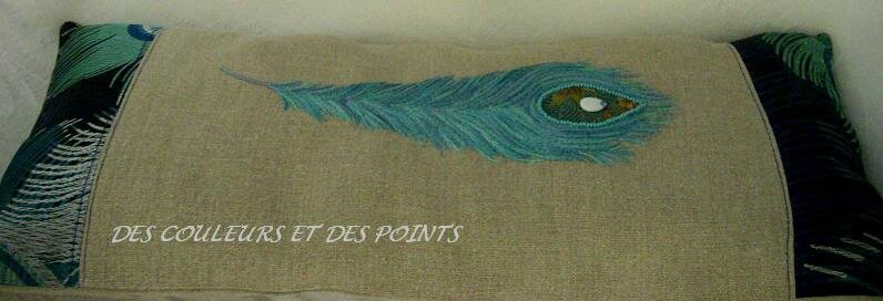 COUSSIN PLUME BRODEE BIS