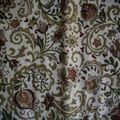 coton batik marron