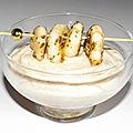 Verrines de rillette de sardine à la sauce crémeuse et sa brochette de crevettes