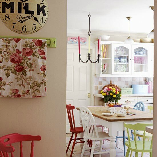 Vintage Country Eclectic Kitchen Style