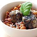 Boulette de viande farcie à la mozzarella de Christelle