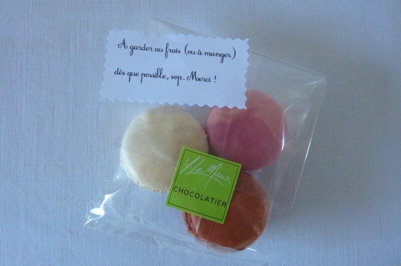 Cadeaux maitresses - macarons