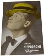 Maurice-Chevalier-1948-Hippodrome-London-Programme copie