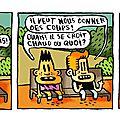 Strip 121 / bill et bobby / le soleil