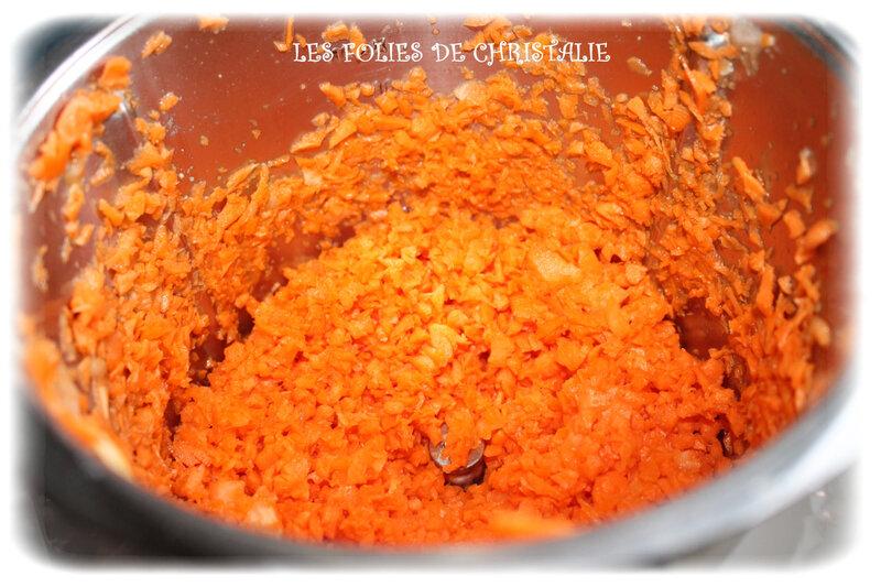 Purée de carottes 2