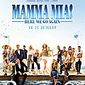 Mamma mia 2 : here we go again