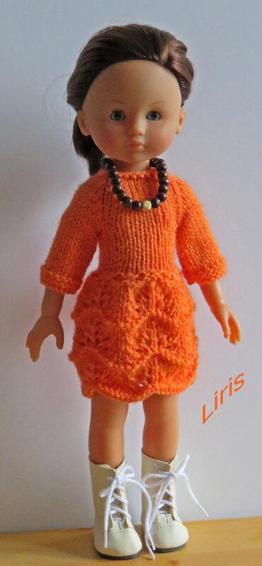 Liris_Robe orange-1