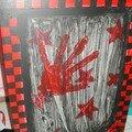 Mon meuble rouge et noir tres ska
