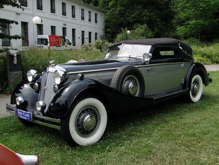 HORCH 853a Sport Cabriolet 1938 Internationales Oldtimer Meeting de Baden-Baden 2010 1