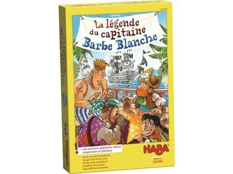 Boutique jeux de société - Pontivy - morbihan - ludis factory - Légende du capitaine barbe blanche