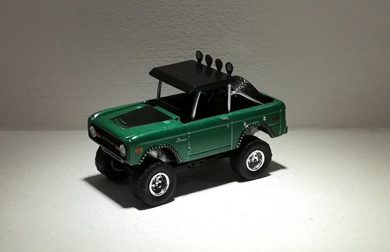 Ford Bronco de 1972 (Greenlight)