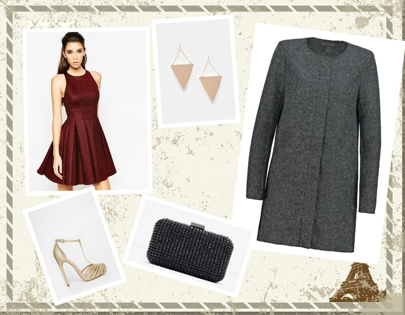 Look invitée mariage hiver 2