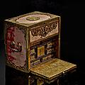 Cabinet de voyage, allemagne du sud, probablement augsbourg, fin xvième-début xviième siècle