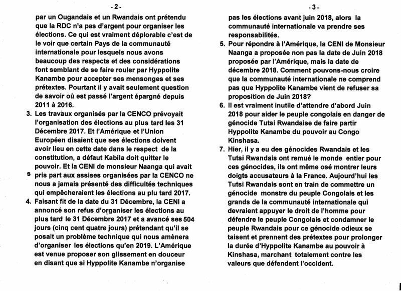 NE PAS VOULOIR ORGANISER DES ELECTIONS TRANSPARENTES ET DEMOCRATIQUES EN RDC b