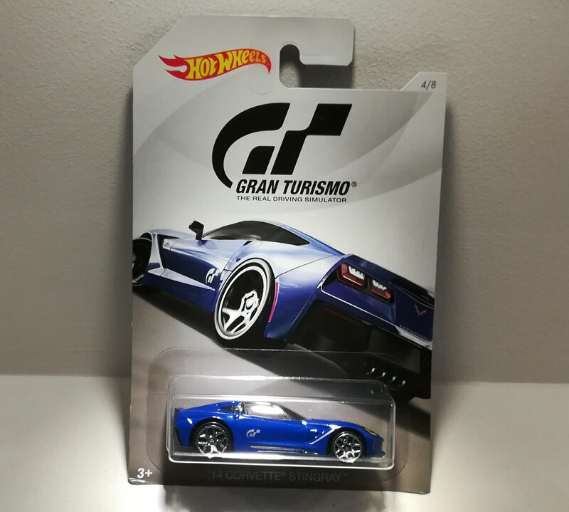 Chevrolet Corvette Stingray de 2014 (Hotwheels)