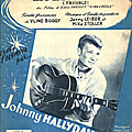 La bagarre - johnny hallyday (partition - sheet music)