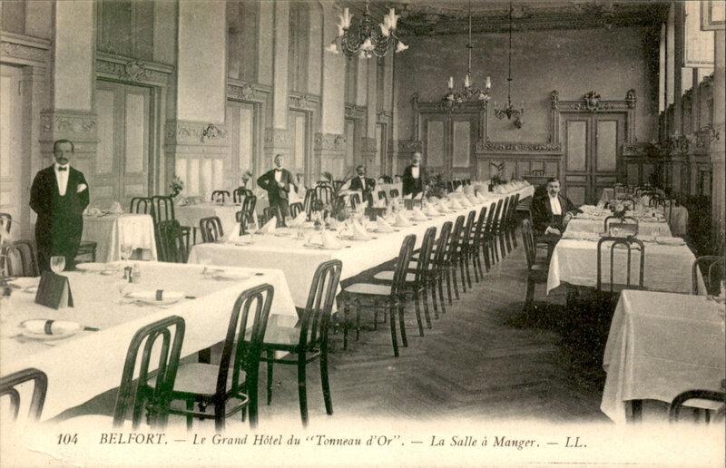 Belfort CPA Tonneau d'Or Salle à manger