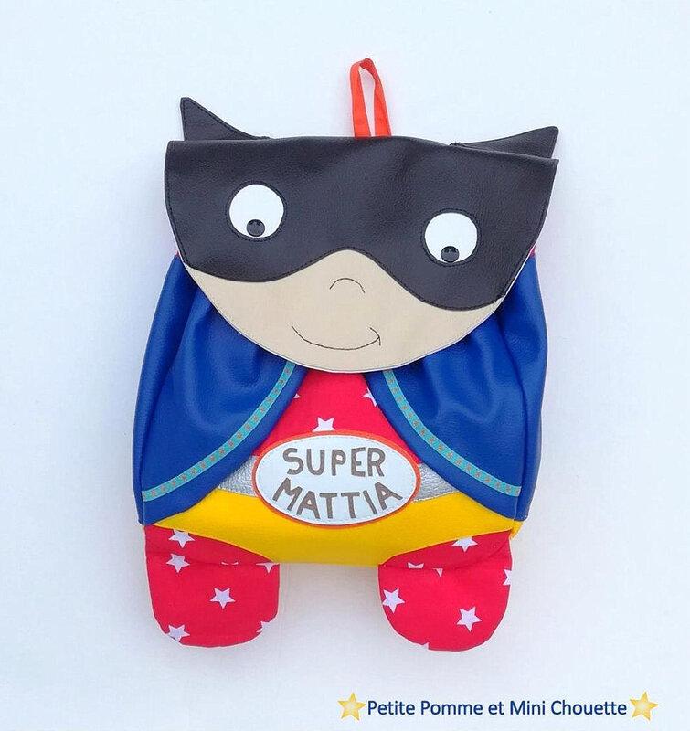 sac à dos super héros ppemc3