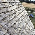 archéologie du bâti,art roman, toit en lauze, choeur