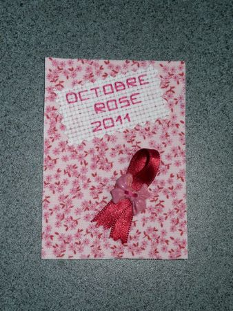 Octobre rose 2011 ATC