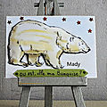 424 ours blanc chez sandrine