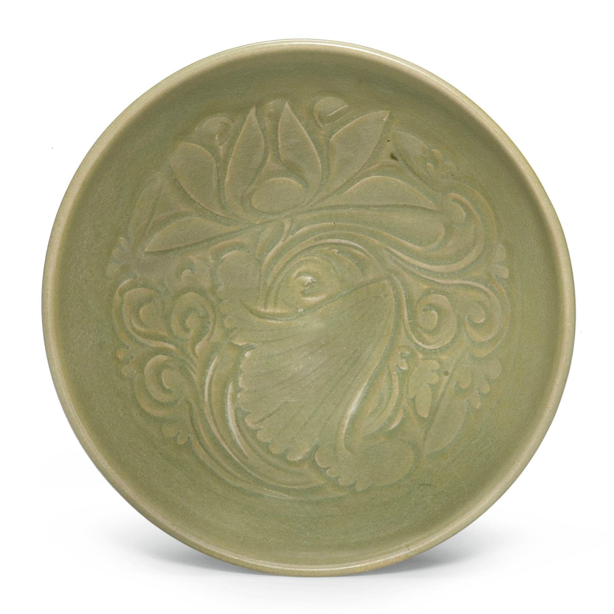 A 'Yaozhou' 'Lotus' Bowl, Jin dynasty