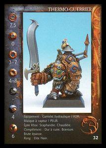 Clan Nain - La Confrérie d'Airain -Thermo guerrier