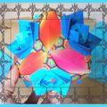 Cube face fleurs