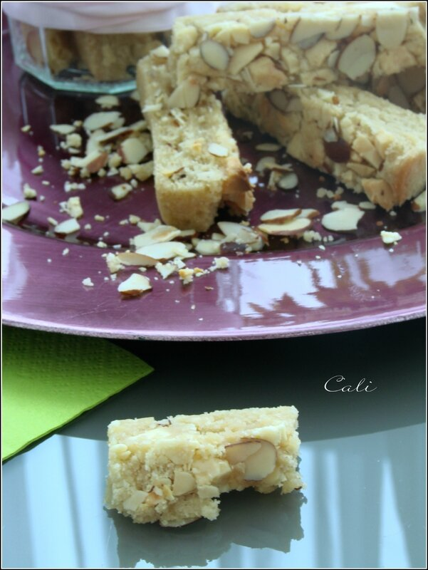 Cookies Sticks aux Amandes & Chocolat Blanc 002