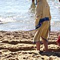 Peignoir de plage