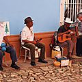 musicos à Trinidad
