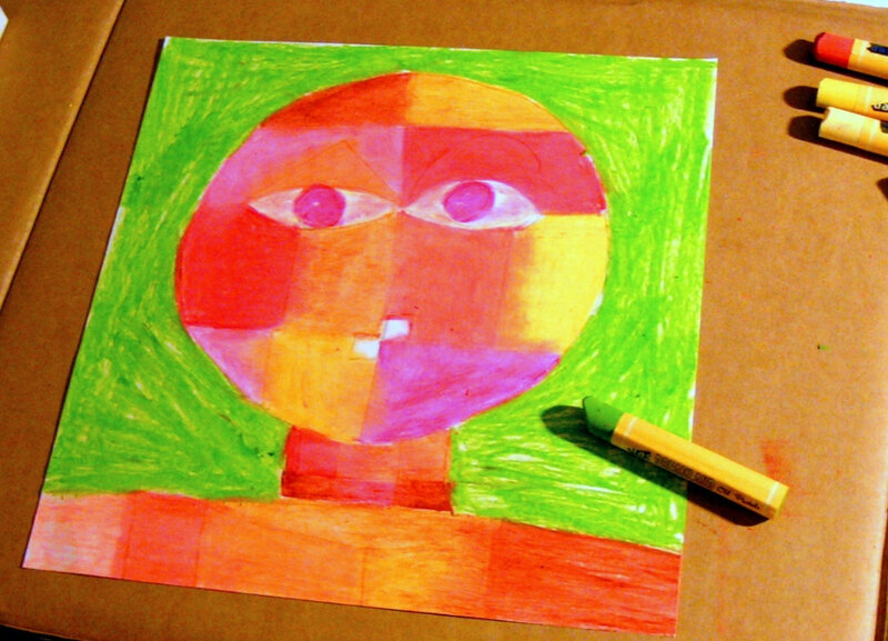 5-Chaud Froid-Portraits inspiration Paul Klee (93)