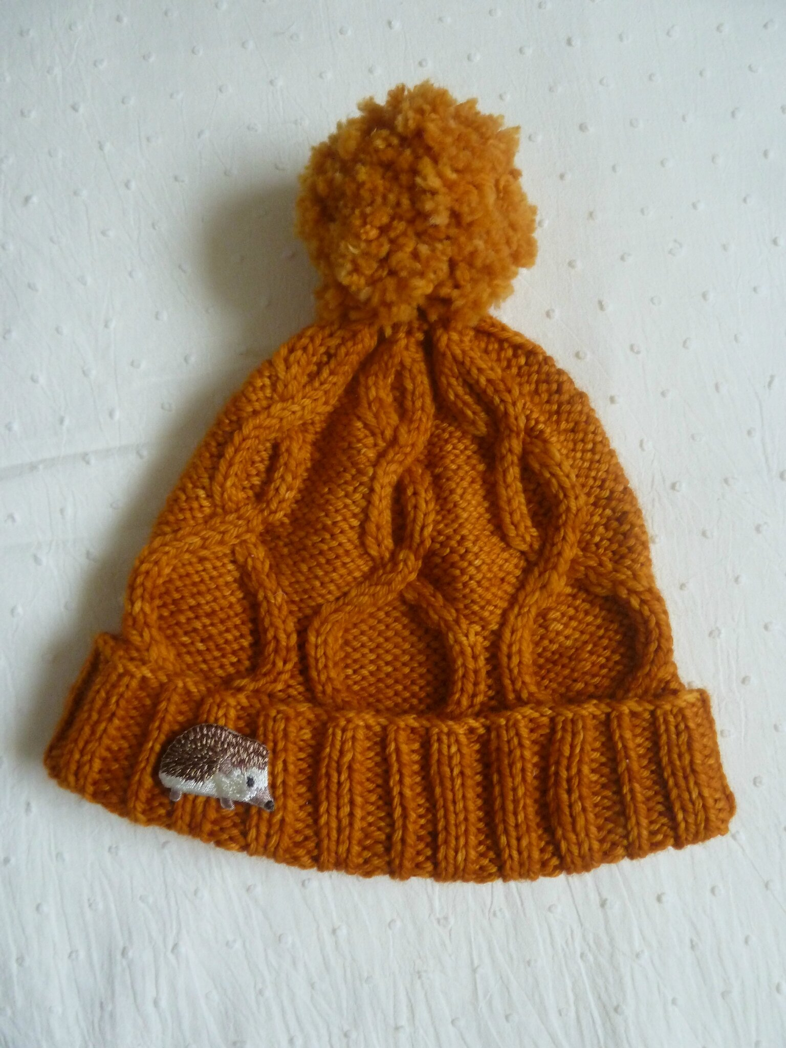 All you knit is Love #12 : Bonnet automnal
