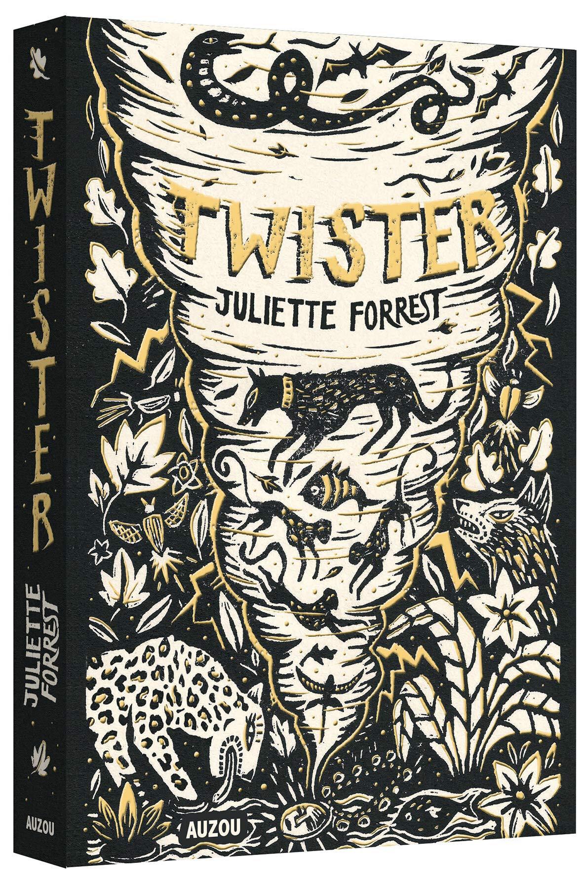 Twister, de Juliette Forrest, chez Auzou ***