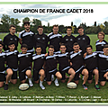 La section sportive de jean moulin championne de france de rugby
