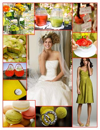 Chartreuse__Red____Yellow_Whimsical_Wedding