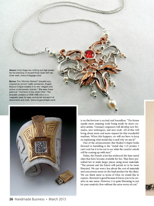 HandmadeBusiness-march15-pg26-WonderWomanBracelet-AngelaCrispin