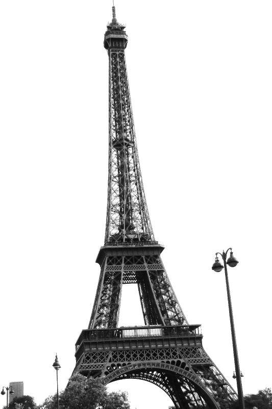 N&B ... la Tour Eiffel