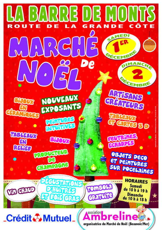 +AFF MARCHÉ NOEL -FROMENTINE- 2018