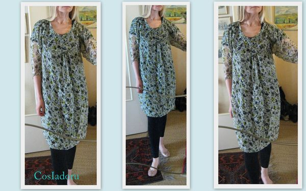 Simple style dress1
