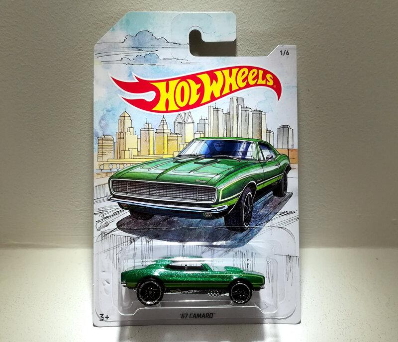 Chevrolet Camaro de 1967 (Hotwheels) (3)