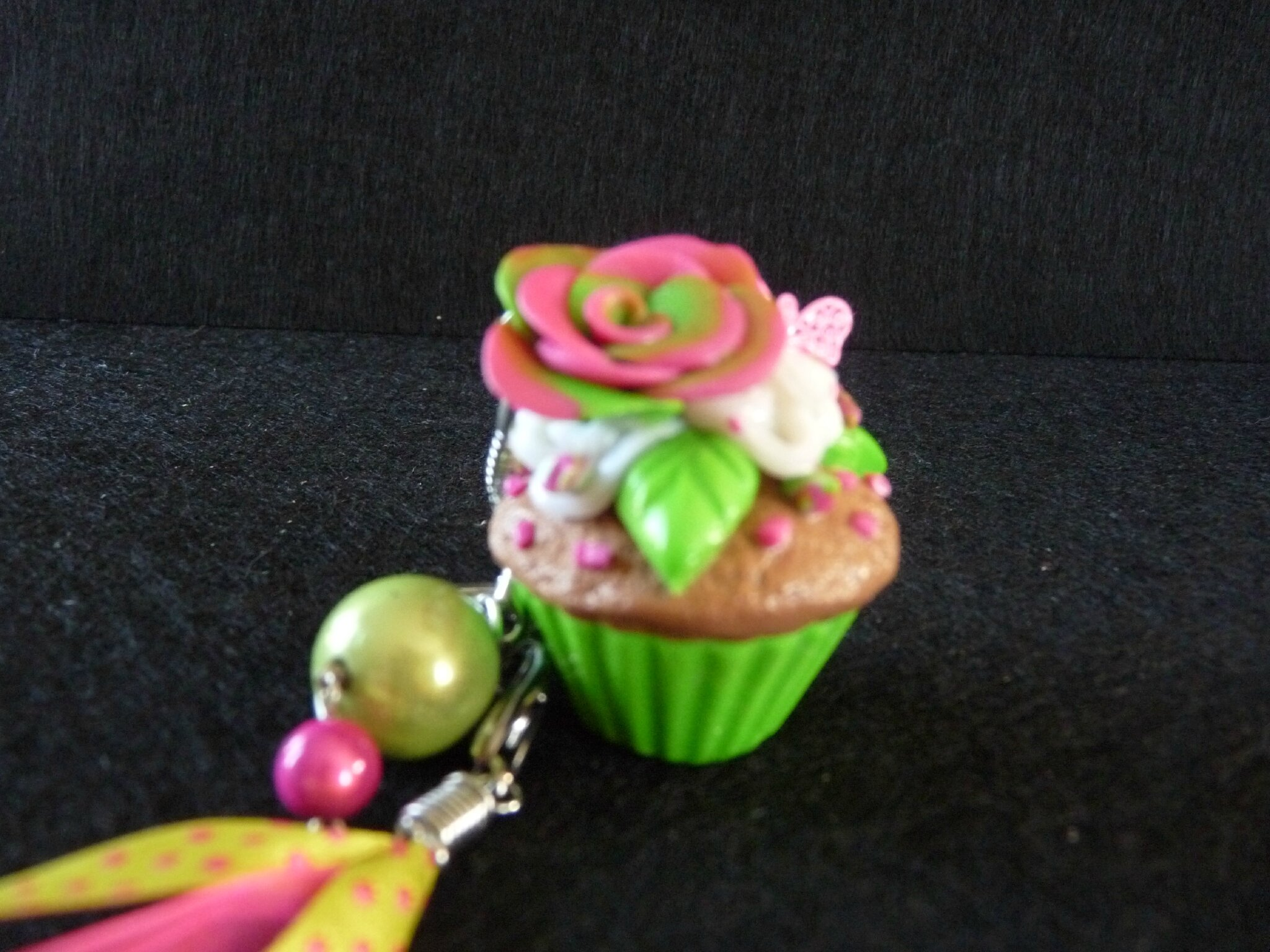 cup cake vert anis